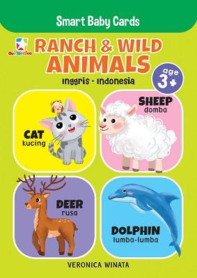 Opredo Smart Baby Cards: Ranch & Wild Animals