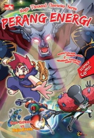 magical chinese character series : Perang Energi