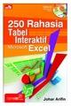 250 Rahasia Tabel Interaktif Microsoft Excel + CD