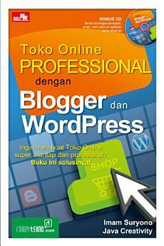 Toko Online Profesional dengan Blogger dan Wordpress + CD