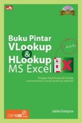 Buku Pintar VLookup dan HLookup MS Excel + BONUS CD 1 BUAH