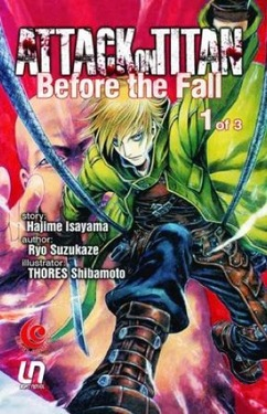 LC: Light Novel Attack Titan Before The Fall 01