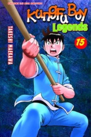 Kungfu Boy Legends 15 Takeshi Maekawa