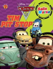 Salin Warna Cars 2 : Tim Pit Stop