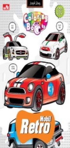 Coloring Book-Mobil Retro