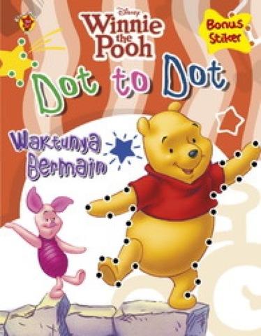 Dot to Dot Pooh : Waktunya Bermain