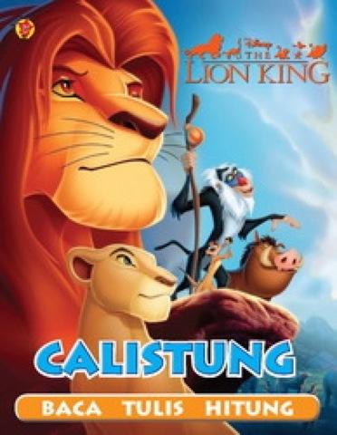 Calistung Lion King Baca Tulis Hitung