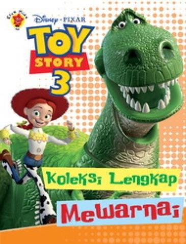Koleksi Lengkap Mewarnai Toy Story 3