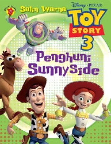 Salin Warna Toy Story 3: Penghuni Sunnyside