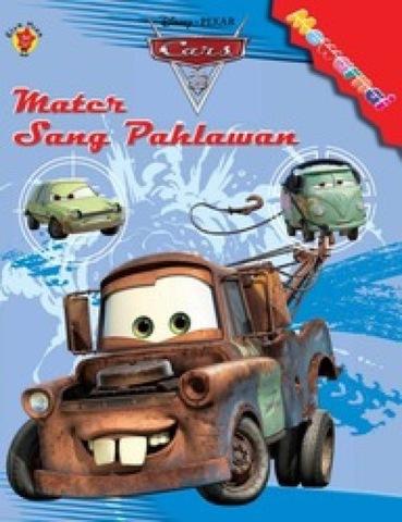 Mewarnai Car 2: Mater Sang Pahlawan