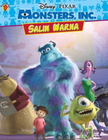 Salin Warna Monsters Inc