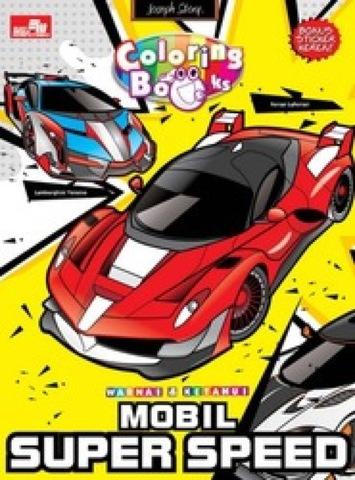 Warnai dan Ketahui: Mobil Super Speed