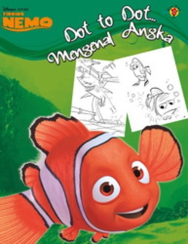 Dot to Dot Finding Nemo: Mengenal Angka