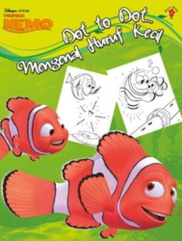 Dot to Dot Finding Nemo: Mengenal Huruf Kecil