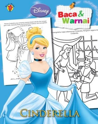 Baca dan Warnai Disney Klasik: Cinderella
