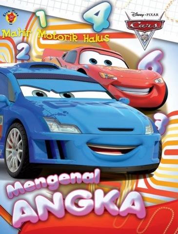 Mahir Motorik halus Cars: Mengenal Angka