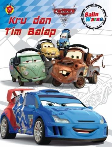 Salin Warna Cars 2: Kru dan Tim Balap