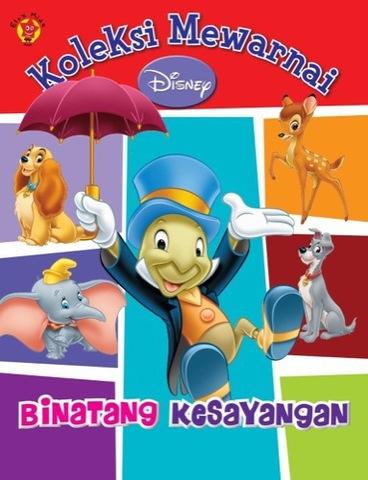 Koleksi Mewarnai Disney: Binatang Kesayangan