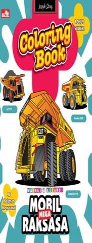 Coloring Book: Mobil Mega Raksasa