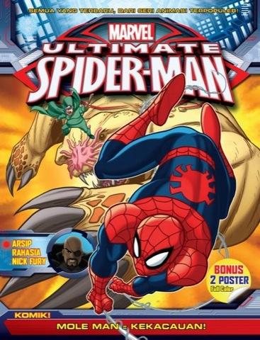 Aktivitas Marvel 1-Ultimate Spiderman