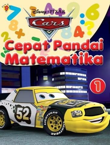 Cepat Pandai Matematika Cars 1
