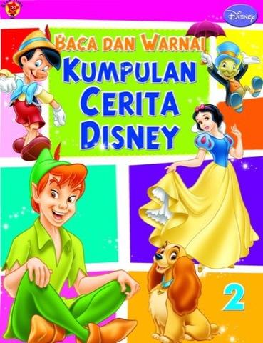 Baca dan Warnai Kumpulan Cerita Disney 2