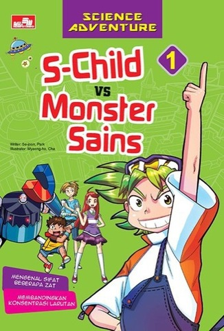 Science Adventure - S-Child VS Monster Sains vol 1