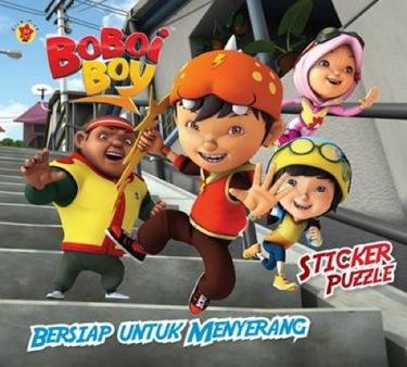 Sticker Puzzle Boboi Boy :  Bersiap untuk Menyerang