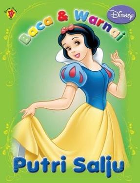 Baca & Warnai Putri Salju