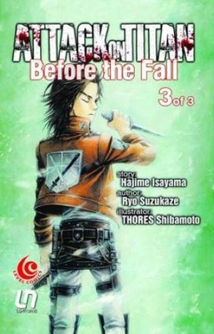 LC Light Novel Attack on Titan Before The Fall 03