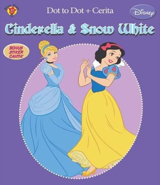 Dot to Dot + Cerita: Snow White dan Cinderella