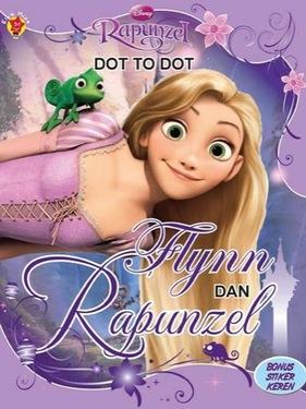 Dot to Dot Tangled: Flynn dan Rapunzel