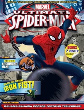 Aktivitas Marvel-Ultimate Spiderman-IRON FIST
