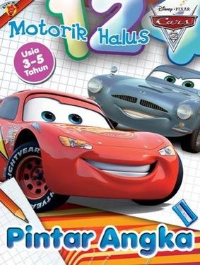 Motorik Halus Cars  Pintar Angka