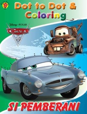 Dot To Dot & Coloring Cars Si Pemberani