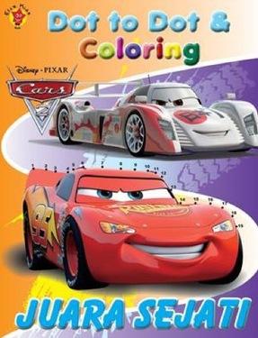 Dot To Dot & Coloring Cars  Juara Sejati