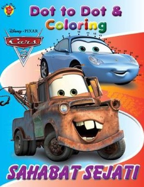 Dot to Dot & Coloring Cars Sahabat Sejati