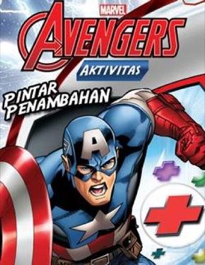 Aktivitas Marvel Avengers: Pintar Penambahan