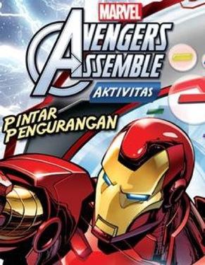 Aktivitas Marvel Avengers: Pintar Pengurangan
