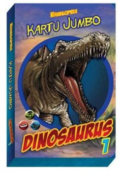 Ensiklopedi Kartu Jumbo : Dinosaurus 1