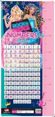 Poster Barbie Rock n Royals: Numbers