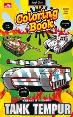Warnai dan Ketahui-Tank Tempur