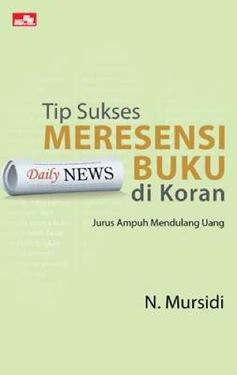 Tip Sukses Meresensi Buku di Koran