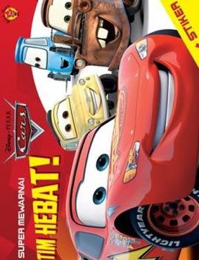 Super Mewarnai CARS + Stiker : Tim Hebat!
