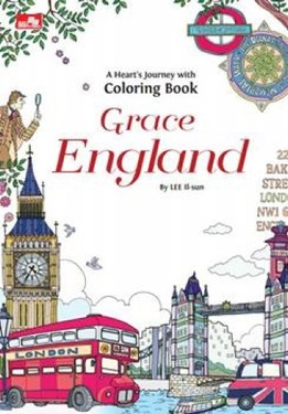 A Heart`s Journey with Coloring Book - Grace England