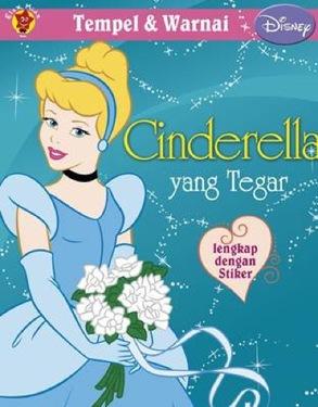 Tempel dan Warnai Disney Klasik: Cinderella yang Tegar