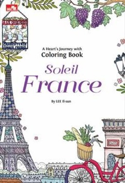 A Heart`s Journey with Coloring Book - Soleil France