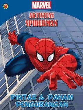 Aktivitas Spiderman: Pintar & Paham Pengurangan