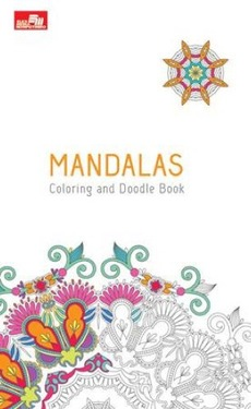 Mandalas Coloring and Doodle Book