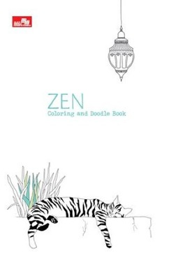 Zen Coloring and Doodle Book